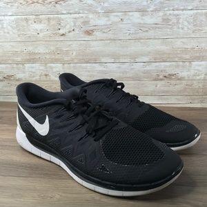 Nike Free 5.0 Black White Sneaker
